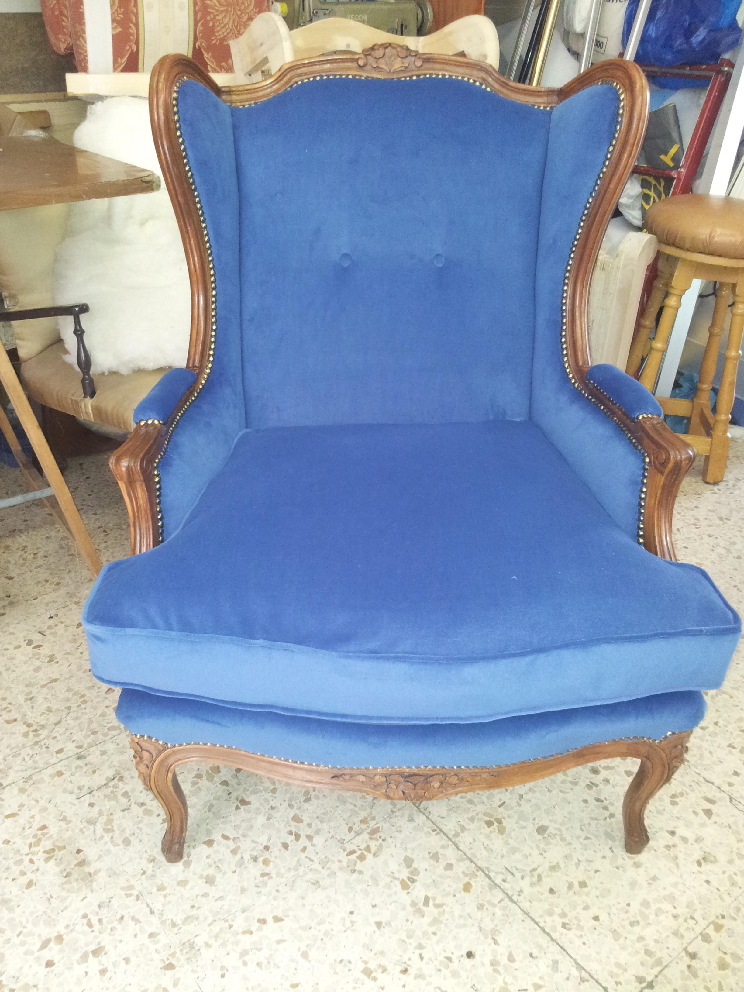 Restauro sedie antiche tappezzeria gloria for Sedie a poltrona
