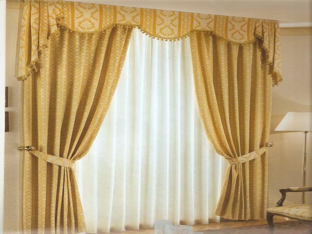 Tende roma ecco le tende con drappeggio tappezzeria gloria - Modelli di tende per camerette ...