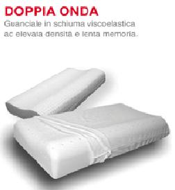 Cuscino Memory Viscoelax Doppia onda