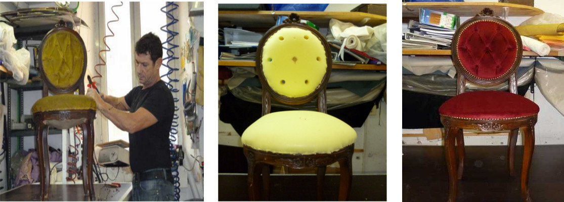 Come riparare una sedia classica