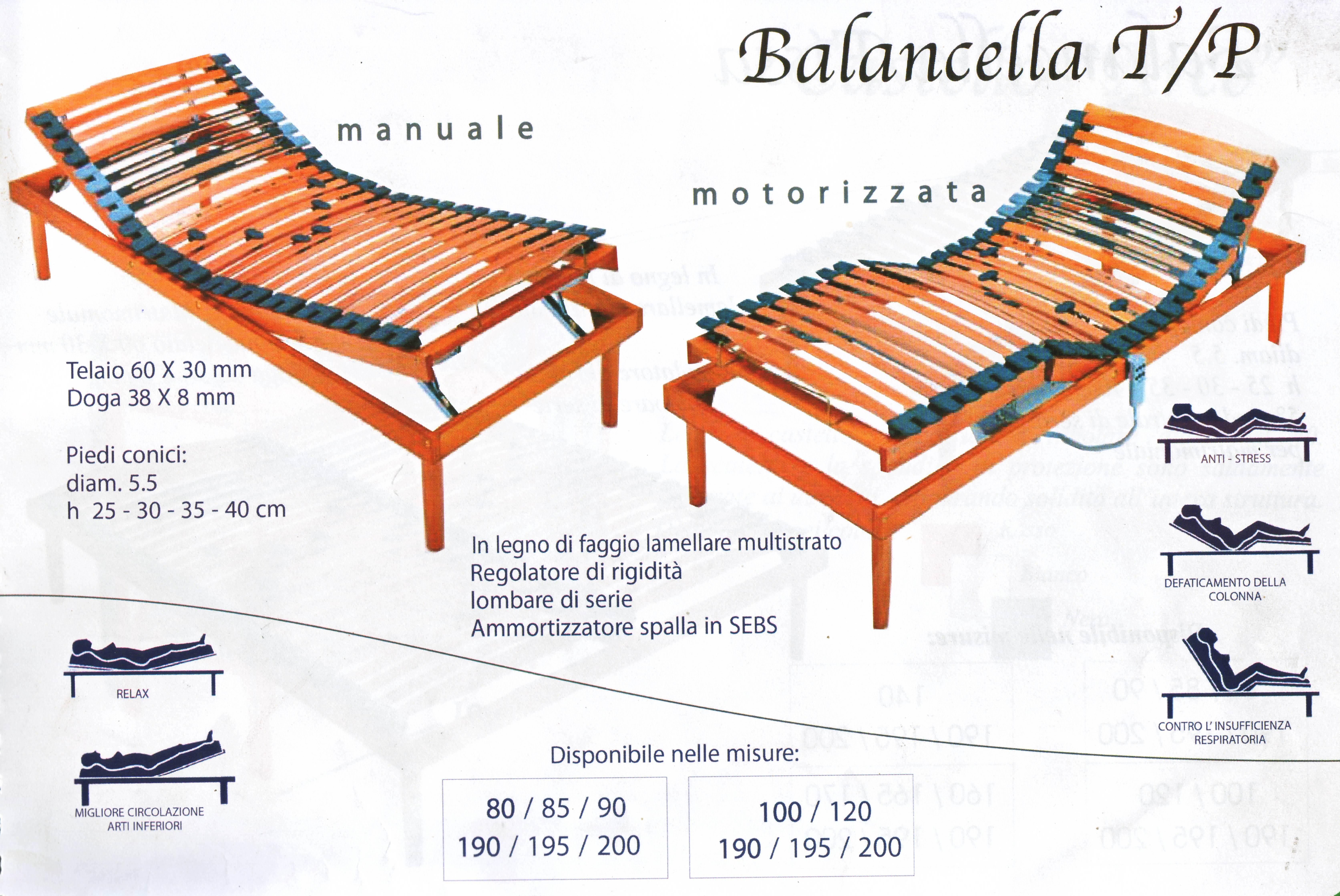 Rete a balancella in legno manuale/Tp