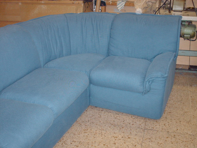 Riparazione divano angolare